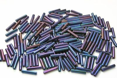Higher Metallic Grape Toho Bugle Beads