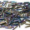 Metallic Rainbow Iris Toho Bugle Beads