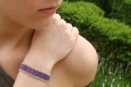 Athena Bugle Bracelet Kit - Makes 2