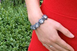 Starburst Bracelet and Earrings