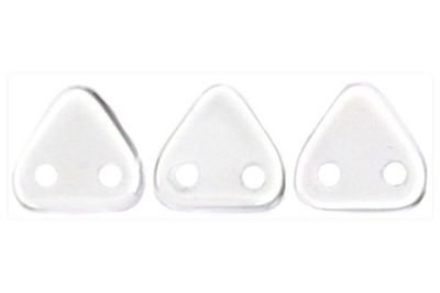Crystal 2-Hole Triangle Beads