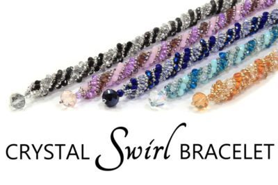Crystal Swirl Bracelet