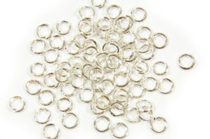 3mm Silver Jump Rings