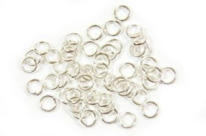 4mm Silver Jump Rings