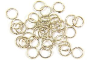 6mm Silver Jump Rings