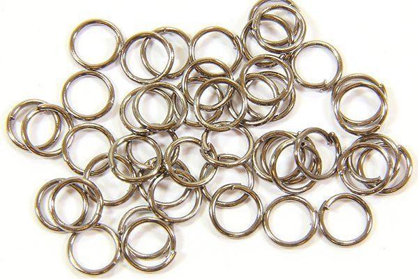 6mm Black Jump Rings