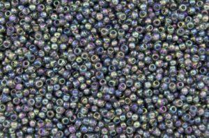 Rainbow Grey Toho Seed Beads
