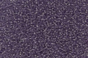 Transparent Sugar Plum Toho Seed Beads