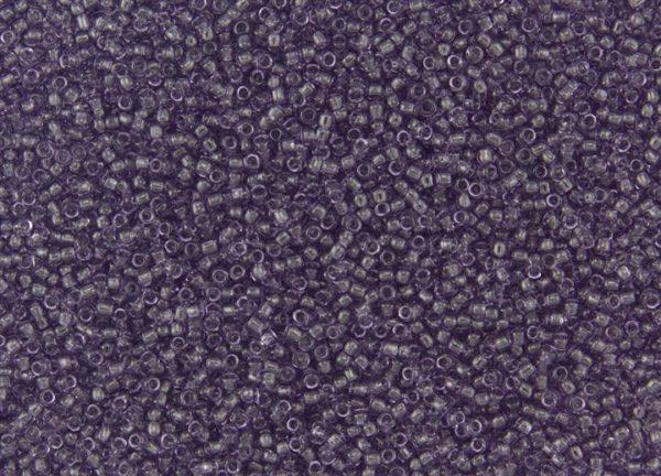 Transparent Sugar Plum Toho Seed Beads