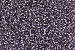 Silver Lined Tanzanite Toho Seed Beads