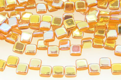 Gold AB 2-Hole Tile