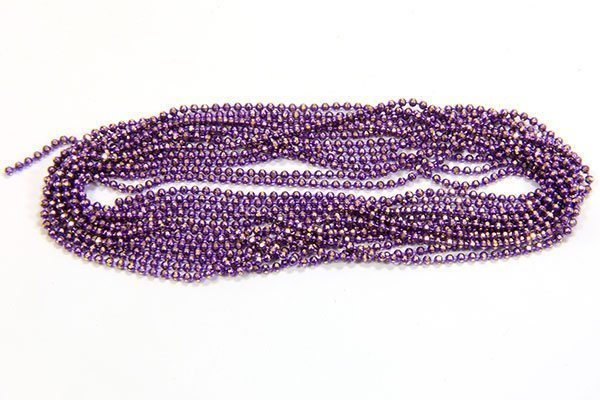 Electric Purple Shimmer Ball Chain