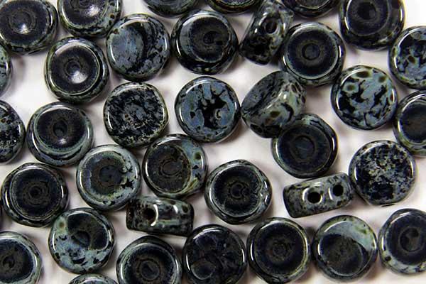 Picasso Jet DiscDuo Beads