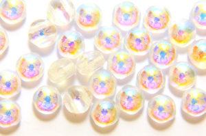 Crystal AB Preciosa Candy Beads