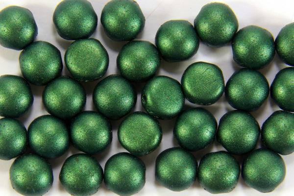 Satin Emerald Preciosa Candy Beads