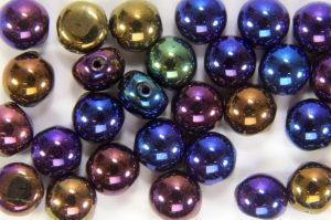 Rainbow Iris Preciosa Candy Beads