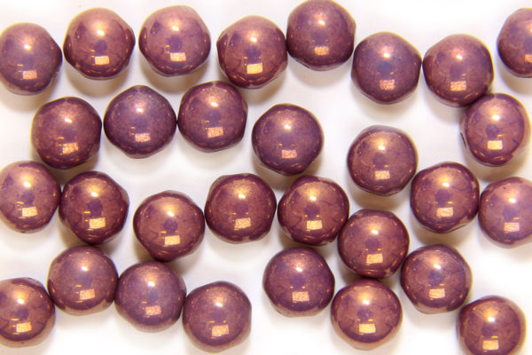 Old Orchid Preciosa Candy Beads