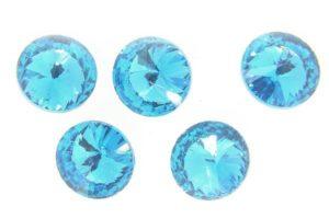 Aurora Azure Blue Crystal Rivoli