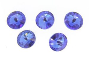 Aurora Royal Blue Crystal Rivoli