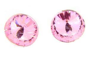 Aurora Rose Pink Crystal Rivoli