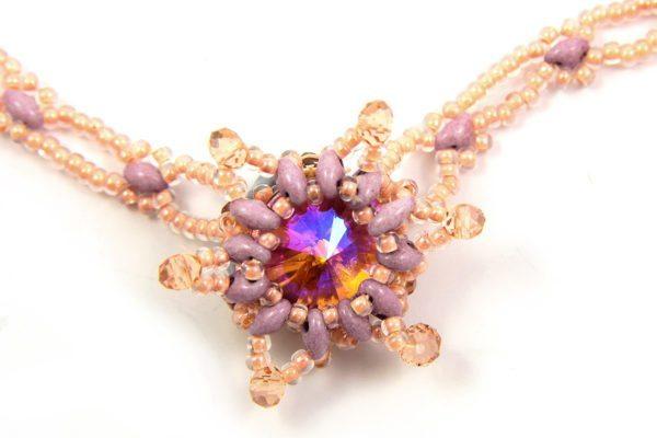 Plum Blossom Starlight Necklace Kit