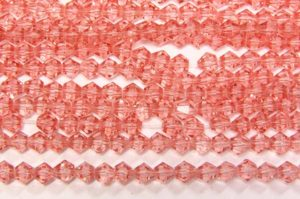 Watermelon Crystal Bicones