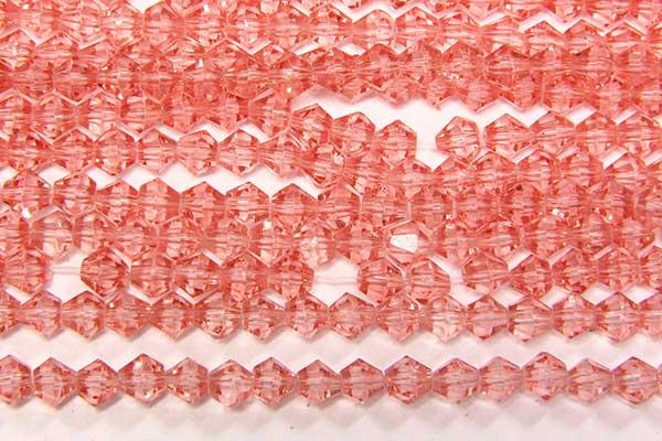 Watermelon Crystal Bicones