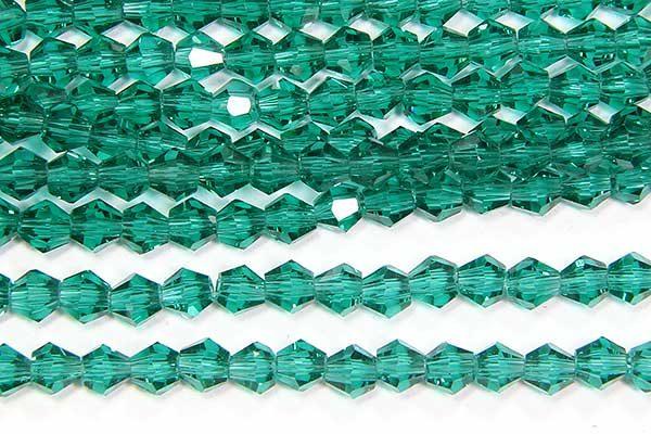 Emerald Crystal Bicones