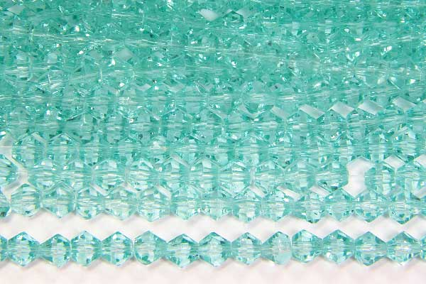 Seafoam Crystal Bicones