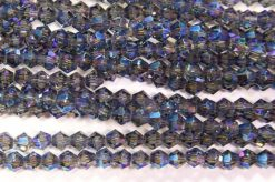 Peacock Ice Crystal Bicones