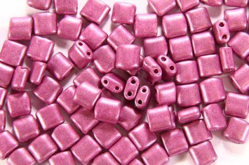 Satin Dusty Rose Mini Tiles