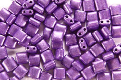 Satin Sugar Plum Mini Tiles