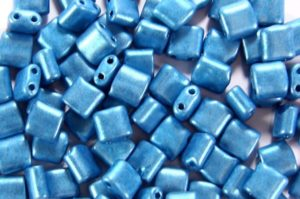 Satin Azure Mini Tiles