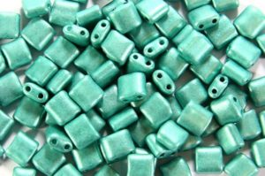 Satin Sea Green Mini Tiles