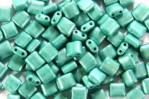 Satin Sea Green Mini Tiles