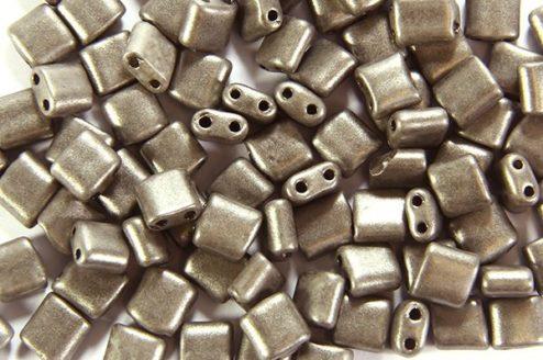Satin Steel Mini Tiles