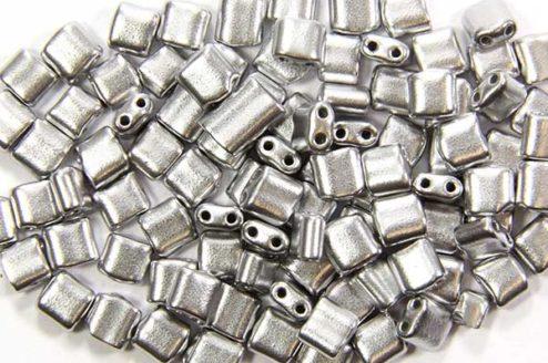 Satin Silver Mini Tiles