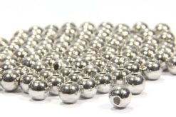 Silver Plated Brass Spacer Beads