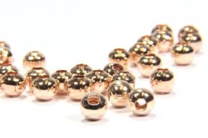 Rose Gold Plated Brass Spacer Beads