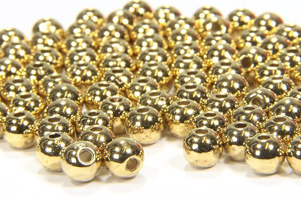 Gold Plated Brass Spacer Beads