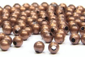 Silver Plated Acrylic Spacer Beads