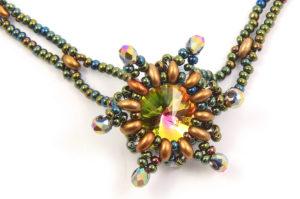 Golden Iris Starlight Necklace Kit