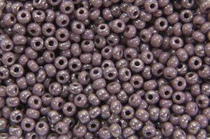 Opaque Sfinx Violet Preciosa Seed Beads