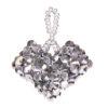 Silver Love Heart Pendant Kit