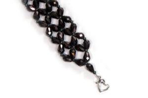 Charcoal Romance Bracelet Kit