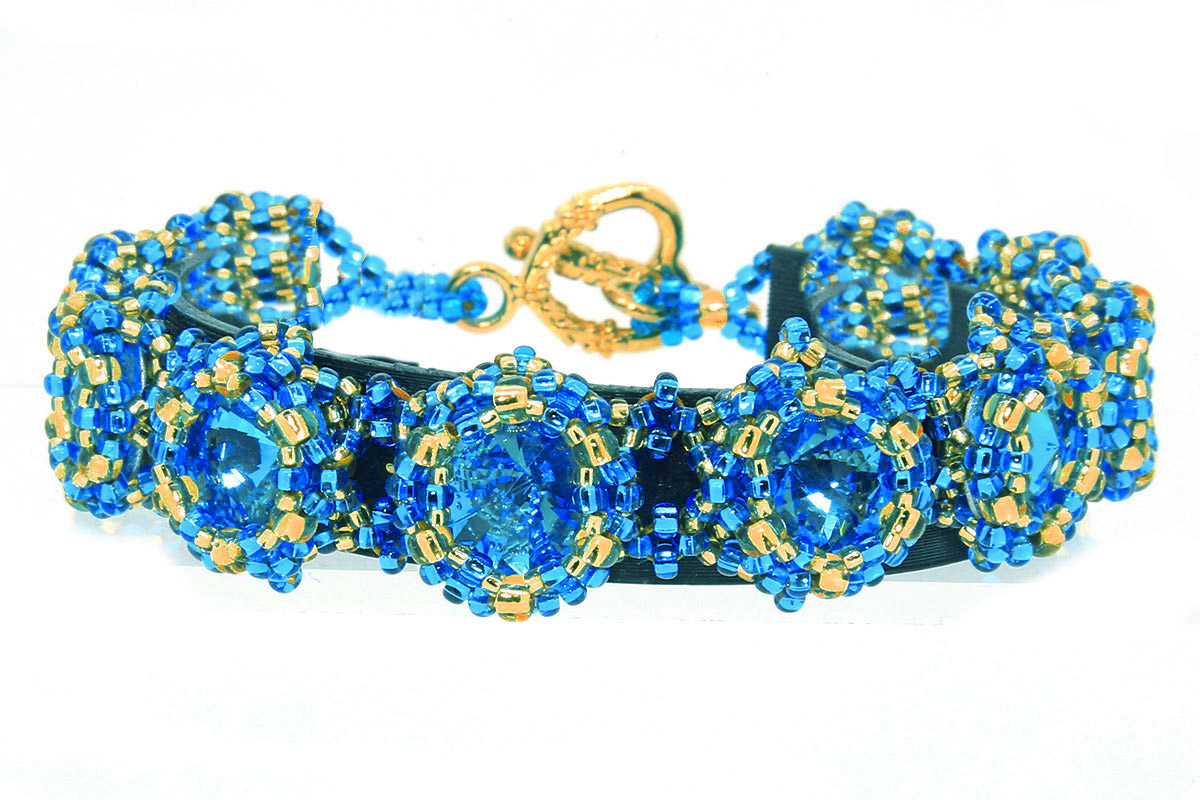 Starburst Rivoli Bracelet and Earring Set