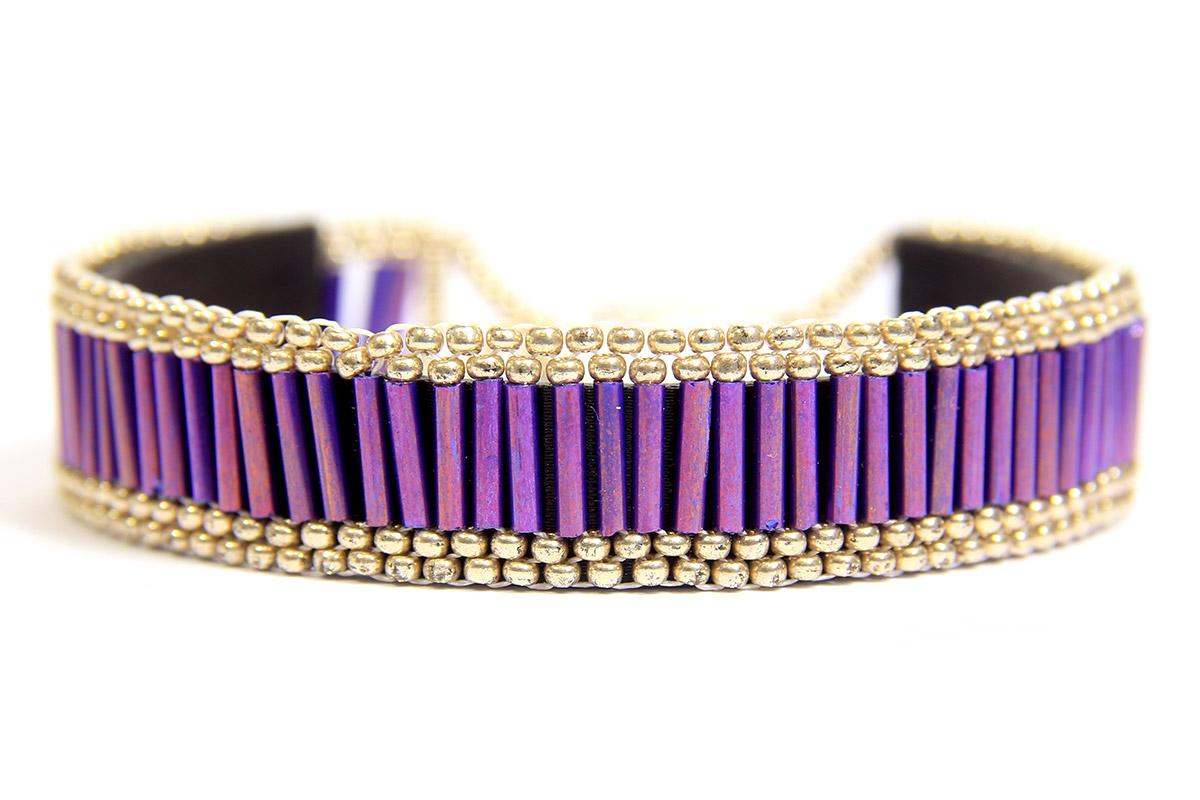 Athena Bugle Bead Bracelet Kit - Makes 2