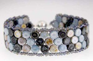 Indigo Mosaic Bracelet