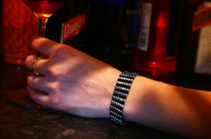 Silver Streak Manhattan Bracelet