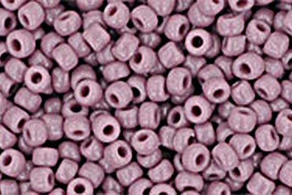 Opaque Lavender Toho Round Seed Beads